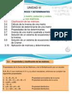 propiedades de matrices