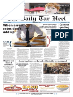 The Daily Tar Heel for Aug. 31, 2015