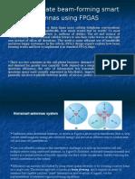 Beamforming Smart Antennas Using FPGA