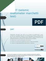 SDMT Seismic Dilatometer Marchetti Test