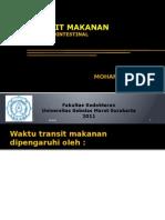 Presentasi Jawaban Gastrointestinal Transit