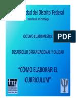 """Cã""""Mo Elaborar El Cv"""