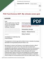 PhD Food Science SOP- My ultimate career goal.pdf