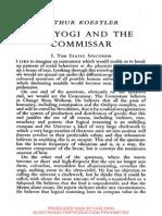 Arthur Koestler_The Yogi and the Komissar