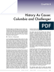 Columbia and Challenger - History