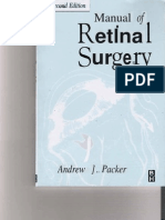 Manual of Retinal Surgery 2nd Edition