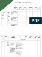KSSR Year 3 SJKC Cheng Siu 1 English Weekly Scheme of Work