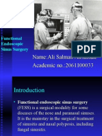 Endoscopic Sinus Surgery