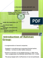Summer Training Presentation Report On