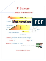 Tareas de Matemáticas