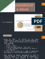 teoria y funcionamiento de un transmisor 4-20ma