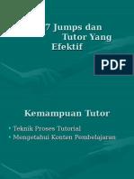 Tutor Yang Efektif Dan Proses 7 Jump Pada Tutorial