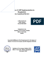 Problems of ADP Implementation in Bangladesh- Saleh Ahmed.pdf