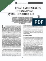 Augusto Angel - Perspectivas ambientales al desarrollo