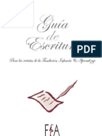 Guía de Escritura para las revistas de la Fundación Infancia y Aprendizaje