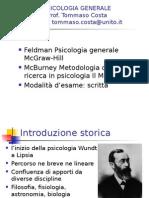 Lezione 1n Storia Della Psicologia