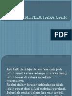 Kinetika Fasa Cair