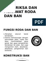 Memeriksa Dan Merawat Roda Dan Ban