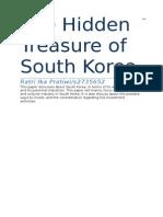 The Hidden Treasure of South Korea