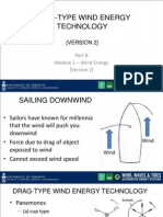 Lecture 2 Version2 _Drag-Type Wind Energy Technology_slides