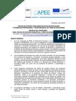 VISITAS DE ESTUDIO PARA ESPECIALISTAS EN EDUCACIÓN Y FORMACIÓN PROFESIONAL Y RESPONSABLES DE TOMA DE DECISIONES