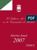 Inf Anual Defensor Del Menor 2007