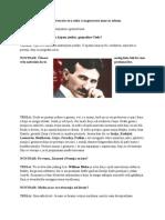 Nikola Tesla - Intervju