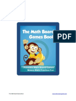 The Math Board Games Book 8