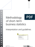 Methodology of short-term business statistics Interpretation and guidelines