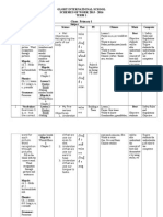 Scheme of Work - P1