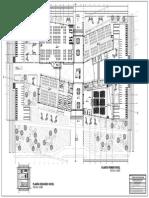 Planta Primer nivel, centro de convenciones