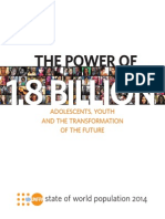 UNFPA - State of the World Population 2014 [The Power of 1.8 Billion].pdf