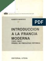 Introducción a La Francia Moderna 1500, Pp Vii-76, 231-270