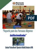 Informe sobre Deporte y Personas Mayores Institucionalizadas