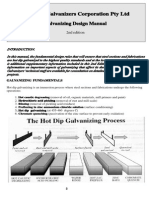 Galvanizing Design Manual