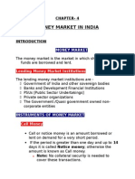 CHAPTER 4 Money Market in India - Copy