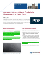 Measurement of PH Using Cationic Conductivity in Power Plants
