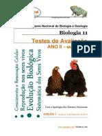 Testes Biologia 11