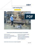 NDT Level 2 in Leak_Testing