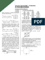 2 Lista de Exercicios Do 3 Bim Do 2 Ano Do EM Assoc de Resistores