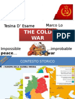 The Cold War At School