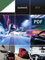 Catálogo Garmin GPS 2015