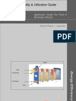 Energy Efficiency in the Food and Beverages Industry