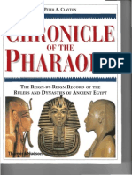 134280724 Chronicles of the Pharaohs Peter a Clayton