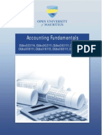Accounting Fundamentals Booklet