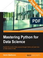 Mastering Python for Data Science - Sample Chapter