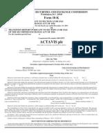 Actavis plc 2013 10K.pdf