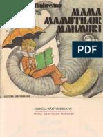 Mama Mamutilor Mahmuri Mircea Santimbreanu