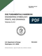 Engineering Symbols, Prints and Drawings Vol 2 of 2 - US DOE (1993) WW