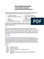 Call for Chicago Chamber of Commons